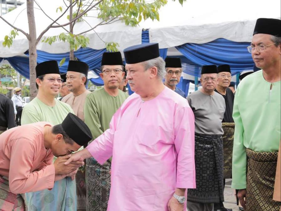 Perasmian MAsjid Daing Abdul Rahman Nusa Idaman Pada 22 November 2019 oleh DYMM Sultan Johor (10)