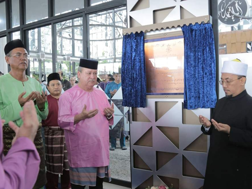 Perasmian MAsjid Daing Abdul Rahman Nusa Idaman Pada 22 November 2019 oleh DYMM Sultan Johor (13)