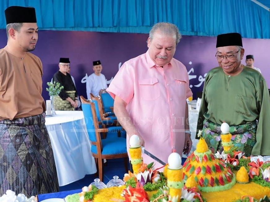Perasmian MAsjid Daing Abdul Rahman Nusa Idaman Pada 22 November 2019 oleh DYMM Sultan Johor (16)