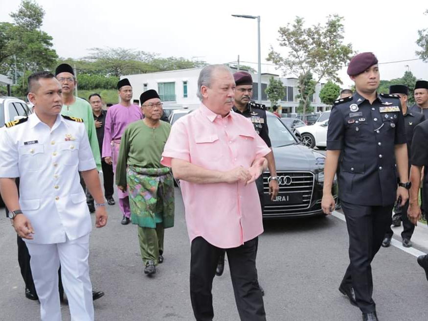 Perasmian MAsjid Daing Abdul Rahman Nusa Idaman Pada 22 November 2019 oleh DYMM Sultan Johor (5)