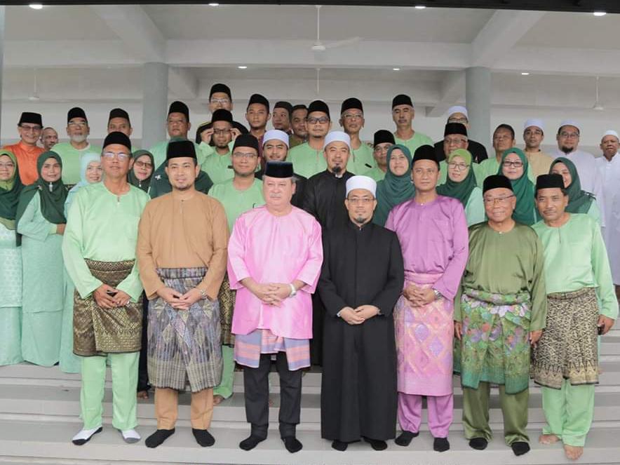 Perasmian MAsjid Daing Abdul Rahman Nusa Idaman Pada 22 November 2019 oleh DYMM Sultan Johor (6)