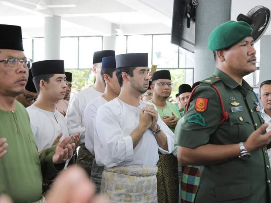 Perasmian MAsjid Daing Abdul Rahman Nusa Idaman Pada 22 November 2019 oleh DYMM Sultan Johor (9)